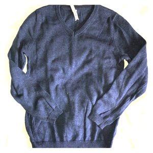 Boys NWOT Vneck Knit Sweater
